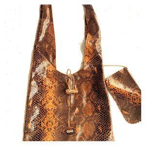 Cecconi Piero Italy- Rare Snakeskin leather bag